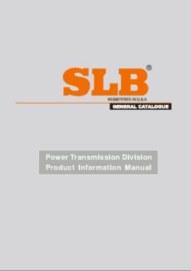 SLB Soportes Rodamientos